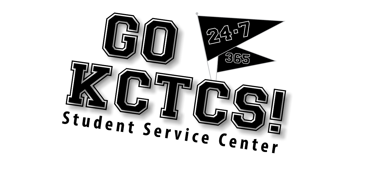 Go KCTCS black and white logo