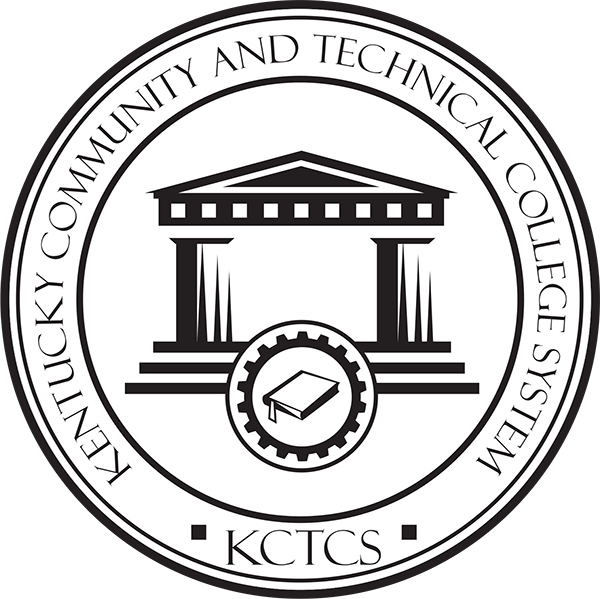black and white KCTCS Seal